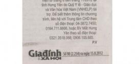 Hỗ trợ nhân đạo tuyển bệnh nhân mổ đục thủy tinh thể miễn phí tại tỉnh Nam Định đợt 1 và 2