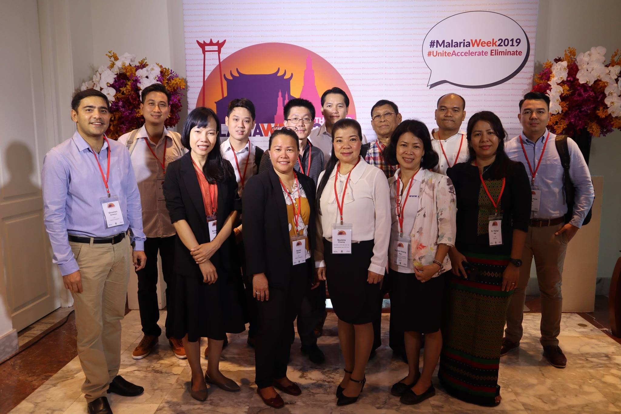 Một số thành viên và tổ chức tích cực trong mạng lưới các tổ chức làm về phòng chống và loại trừ sốt rét trong khu vực
