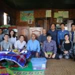 Cán bộ Trung tâm CHD cùng mạng lưới tổ chức làm việc về phòng chống và loại trừ sốt rét khu vực tham quan thực địa truyền thông cộng đồng tại Myanmar