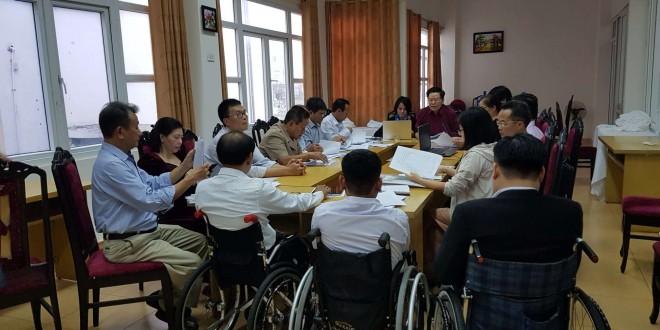 Tham gia Hoàn thiện báo cáo độc lập về giám sát việc thực thi công ước Liên Hiệp Quốc về quyền của người khuyết tật