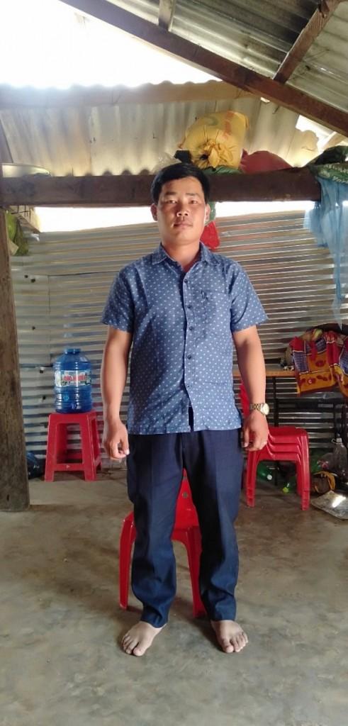 Giàng A Nụ - Tấm gương trong phòng chống sốt rét của xã EaDăh, huyện Krong Năng, tỉnh Đắk Lắk